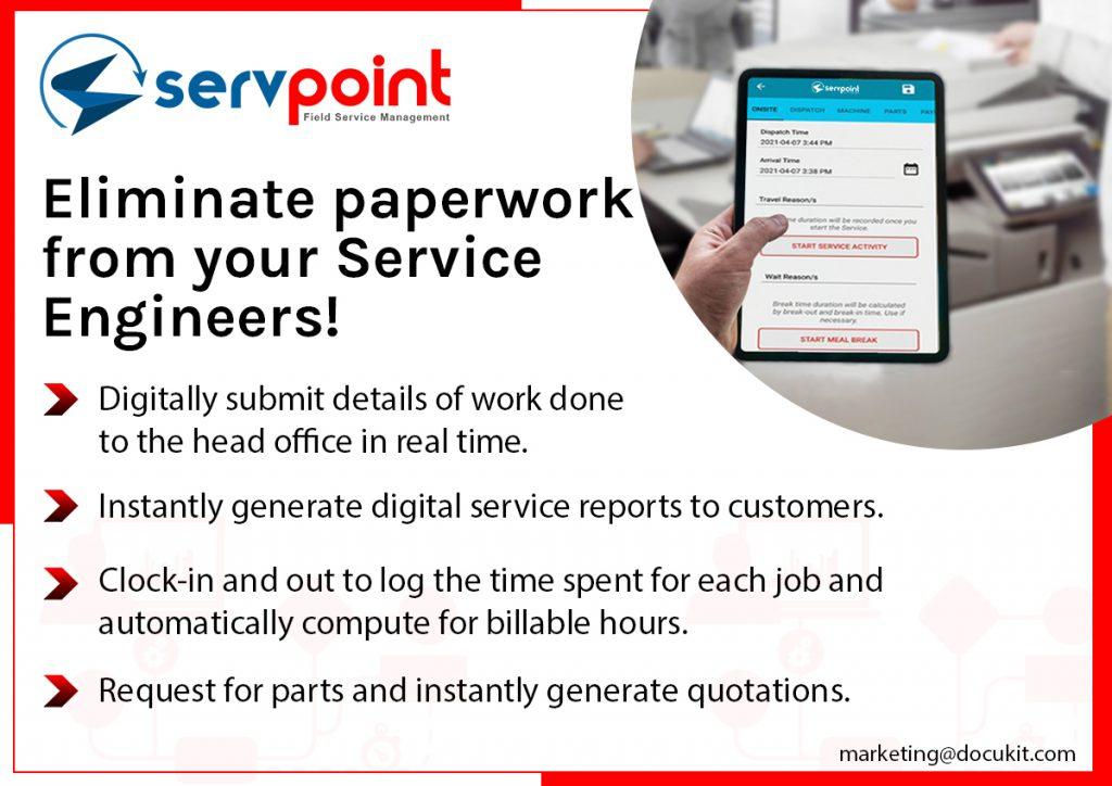 Eliminate Paper Works